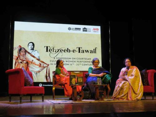 The Tehzeeb-e-Tawaif symposium at the Royal Opera House in Mumbai