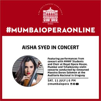 Aisha Syed in Concert