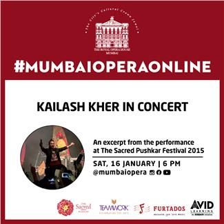 Kailash Kher in Concert