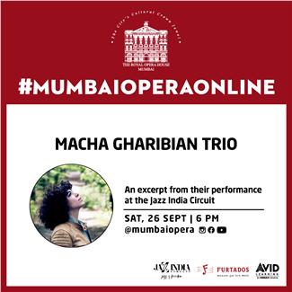 Macha Gharibian Trio – An excerpt from their performance at the Jazz India Circuit