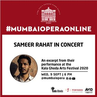 Sameer Rahat in Concert – An excerpt from his performance at the Kala Ghoda Arts Festival 2020