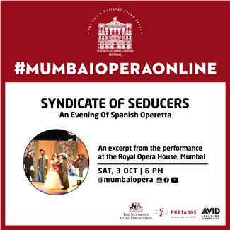 Syndicate of Seducers - An Evening of Spanish Operetta