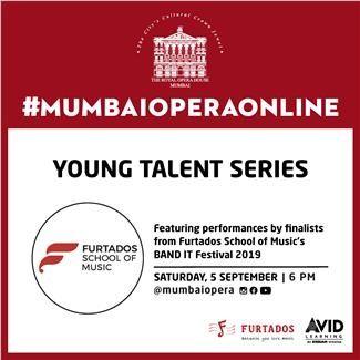 Young Talent Series ft. finalists from Furtados School of Music's BAND IT Festival 2019