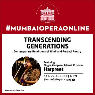 Transcending Generations - Contemporary Renditions of Hindi and Punjabi Poetry